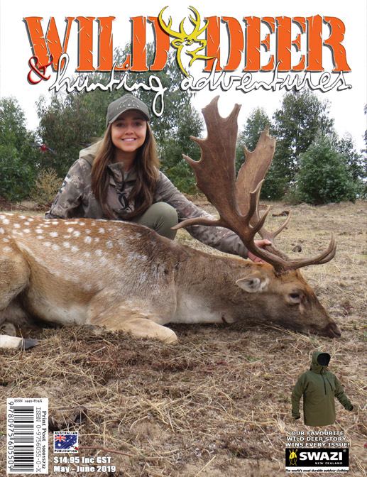 2019 Wild Deer & Hunting Adventures – No.77 (May-June) Issue 3 Vol. 15