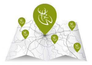 Wild Deer Store Locations Map